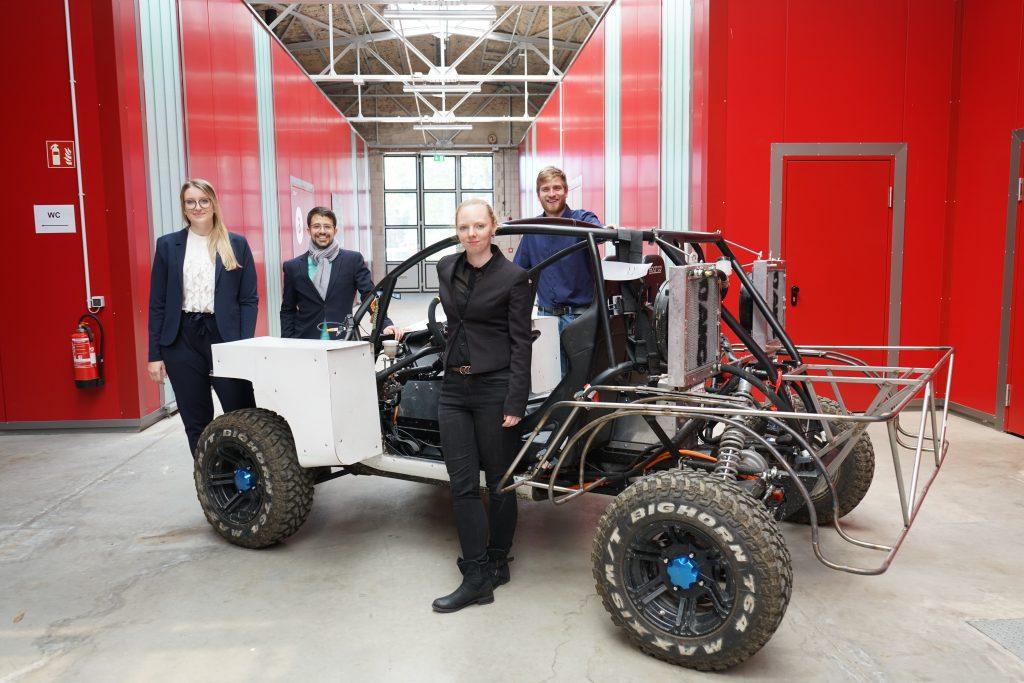 Hochvolt Solar Buggy Team aus Bochum 2019